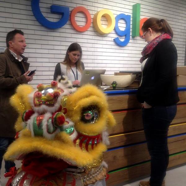 Event bei Google